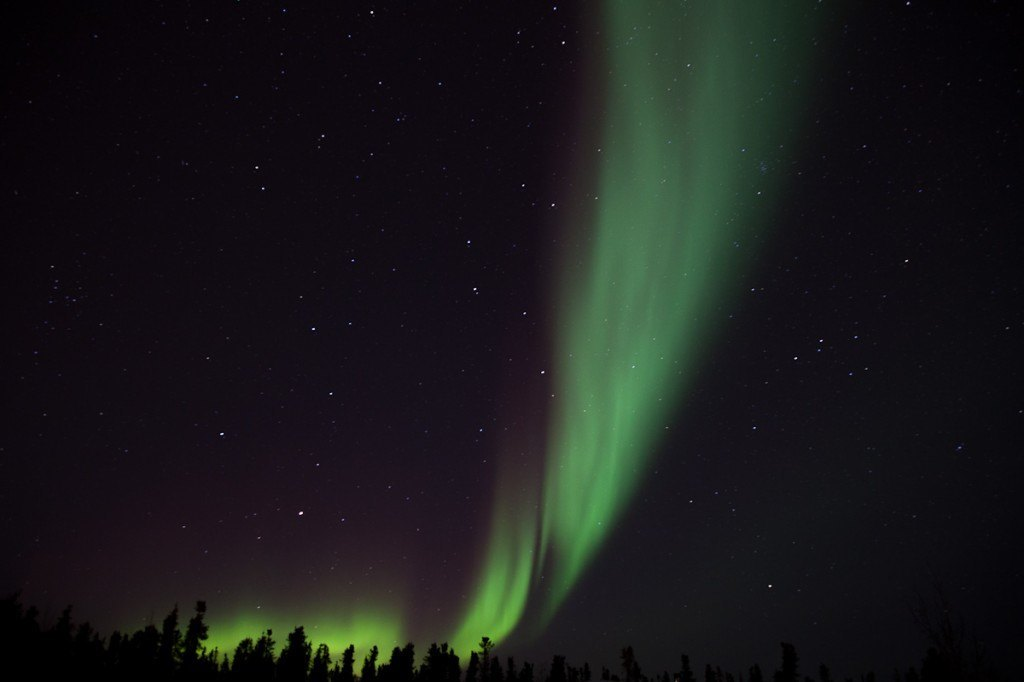 Northern lights, gazing… south!